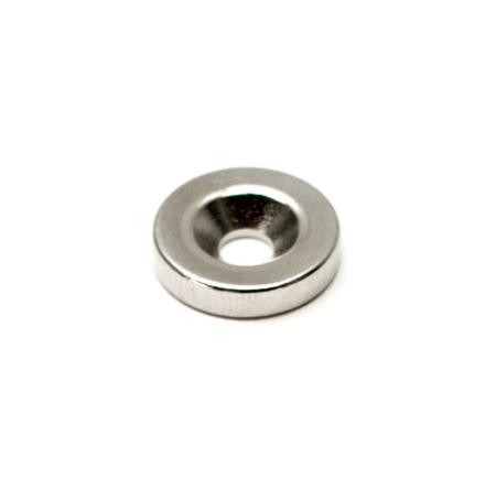 Neodymmagnet ring med försänkning 90°
